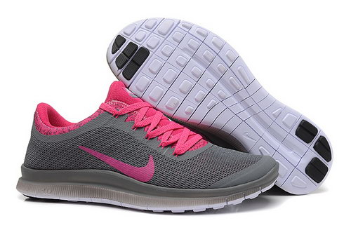 Nike Free 3.0 V6 Ext Womens Shoes Deep Gray Pink Sweden
