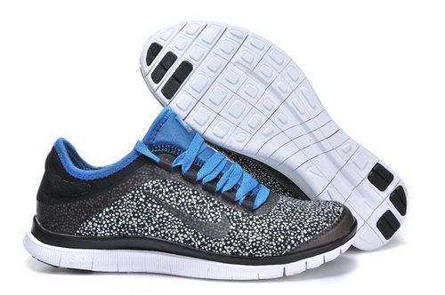 Nike Free 3.0 V6 Mens Shoes Gray Blue France