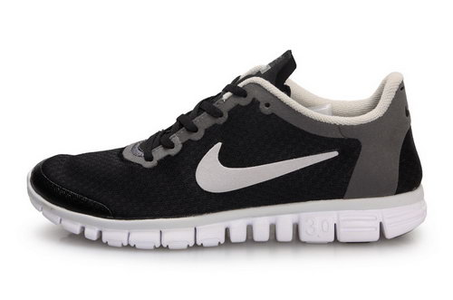 Nike Free 3.0 Womens & Mens (unisex) Black White New Zealand