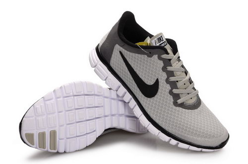 Nike Free 3.0 Womens & Mens (unisex) Grey Black Low Price