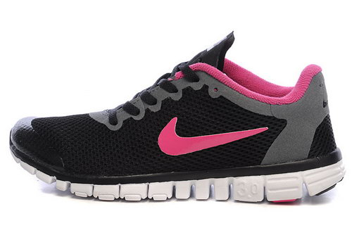 Nike Free 3.0 Womens Black Pink Uk