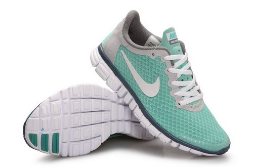 Nike Free 3.0 Womens Green White Grey Poland