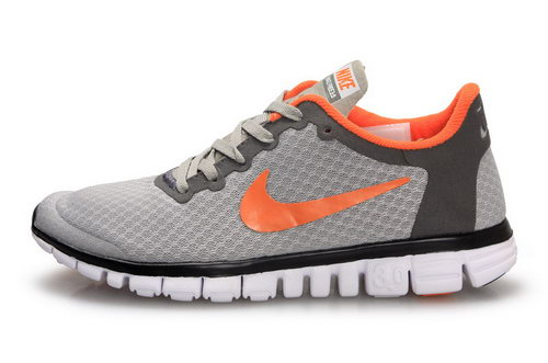 Nike Free 3.0 Womens Grey Orange Coupon Code