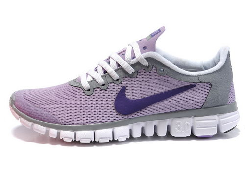 Nike Free 3.0 Womens Grey Purple Wholesale