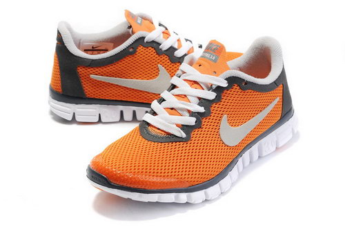 Nike Free 3.0 Womens Orange White Switzerland