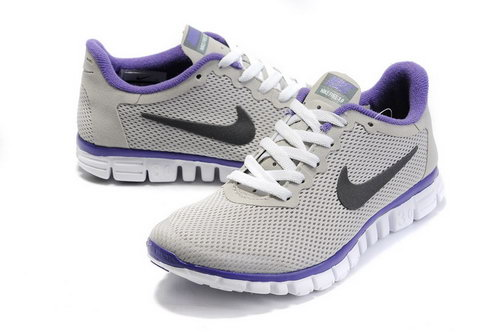 Nike Free 3.0 Womens Size Us5 6 7.5 Grey Black Purple Sale