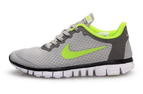 Nike Free 3.0 Womens Size Us9 9.5 10 Grey Green Japan