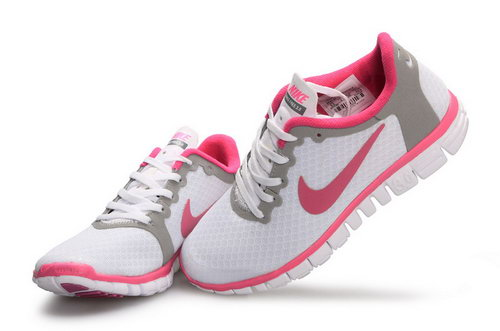 Nike Free 3.0 Womens White Pink Korea