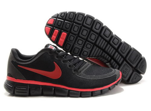 Nike Free 5.0 Mens Black Red Portugal