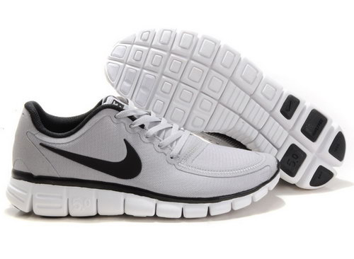 Nike Free 5.0 Mens Grey Black Usa