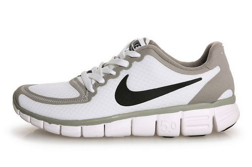 Nike Free 5.0 Mens Size Us7.5 9 10.5 11.5 White Grey Black Korea