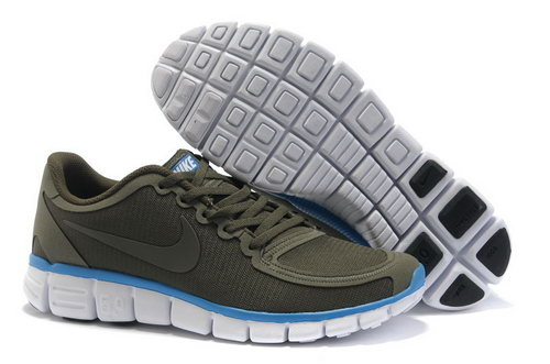 Nike Free 5.0 Mens Army Green For Sale