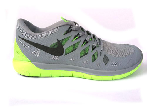 Nike Free 5.0 Run 2014 Grey Green Running Shoe Taiwan