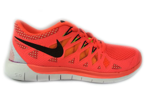 Nike Free 5.0 Run 2014 Orange Black Running Shoe Online Shop