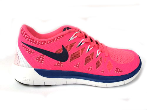 Nike Free 5.0 Run 2014 Pink White Running Shoe Spain