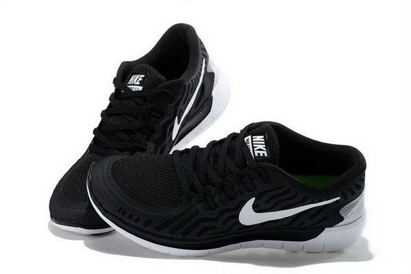 Nike Free 5.0 Running Shoe Black White Review