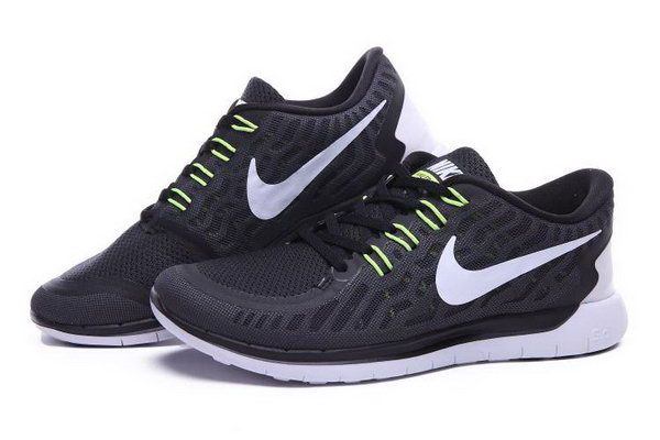 Nike Free 5.0 Running Shoes Black White Factory Outlet