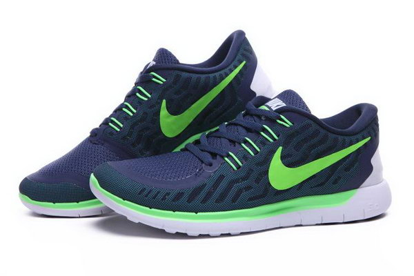 Nike Free 5.0 Running Shoes Blue Green New Zealand