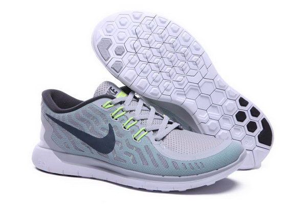 Nike Free 5.0 Running Shoes Blue Grey Factory