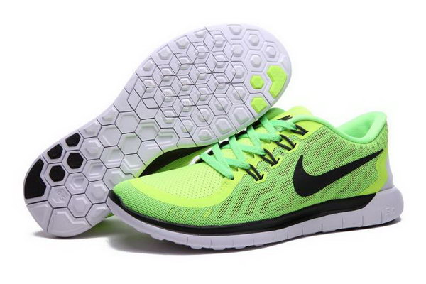 Nike Free 5.0 Running Shoes Green Black Coupon