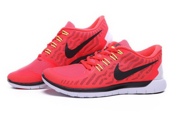Nike Free 5.0 Running Shoes Red Black Canada