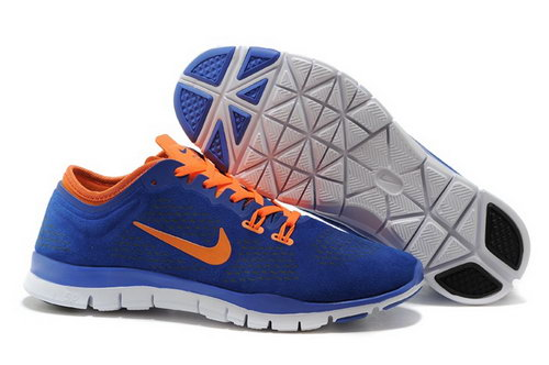 Nike Free 5.0 Tr Fit 3 Mens Shoes Royal Blue Orange New Ireland