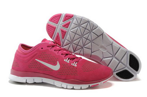 Nike Free 5.0 Tr Fit 3 Womens Shoes Peach Red Pink White New Inexpensive