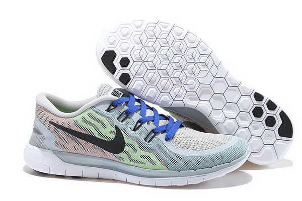 Nike Free 5.0 V2 Mens Light Gray Black Royal Blue Wholesale