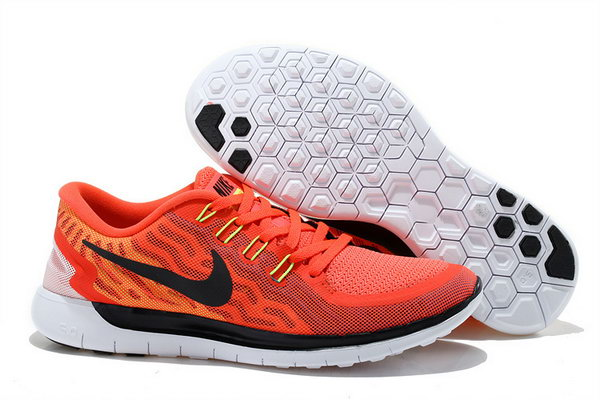 Nike Free 5.0 V2 Mens Orange Red Black Switzerland