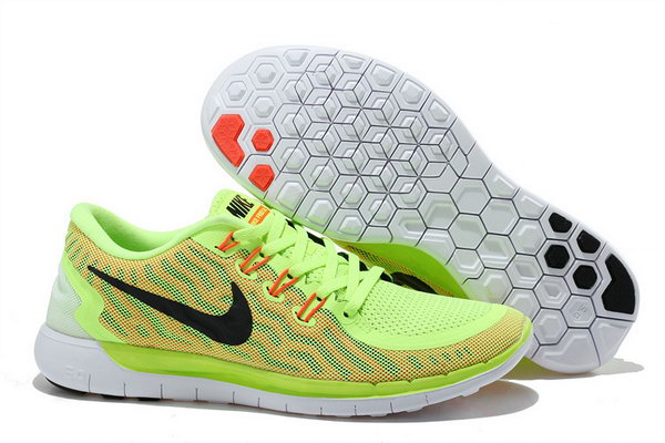 Nike Free 5.0 V2 Womens Fluorescence Green Red Black Online Store