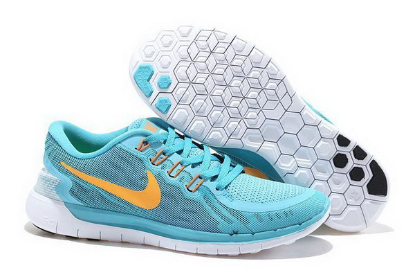 Nike Free 5.0 V2 Womens Jade Orange Outlet Store