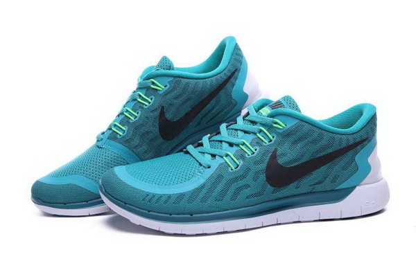 Nike Free 5.0 Women Green Black Shoes Closeout