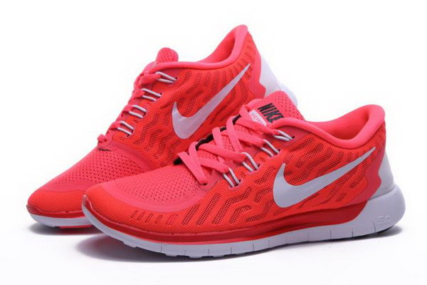 Nike Free 5.0 Women Pink White Shoes Czech