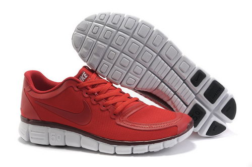Nike Free 5.0 Womens & Mens (unisex) Red Cheap