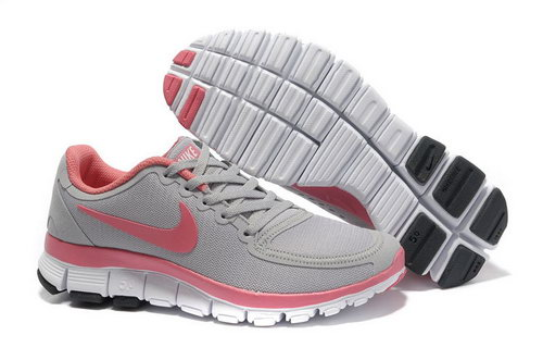Nike Free 5.0 Womens Grey Pink Outlet