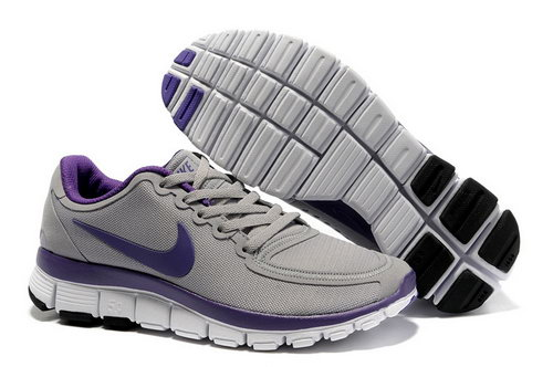 Nike Free 5.0 Womens Grey Purple Discount