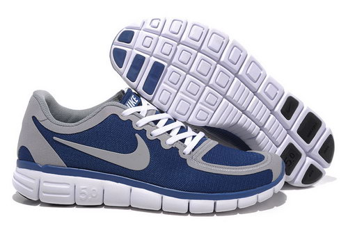 Nike Free 5.0 Womens Size Us9 9.5 10 Blue Grey Outlet Online