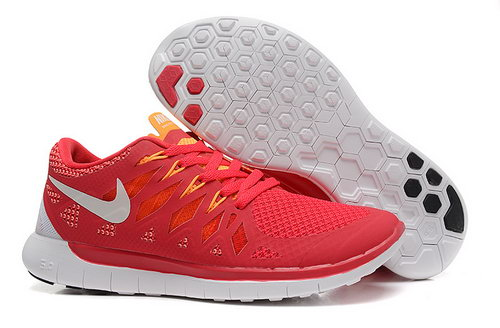 Nike Free 5.0+ Womens Shoes Red White Uk