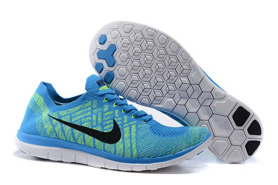 Nike Free Flyknit 4.0 V2 Blue Green Black 36-45 Czech