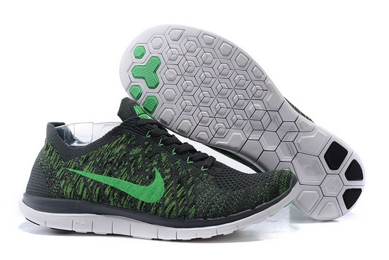 Nike Free Flyknit 4.0 V2 Dark Grey Green 40-45 Outlet Store