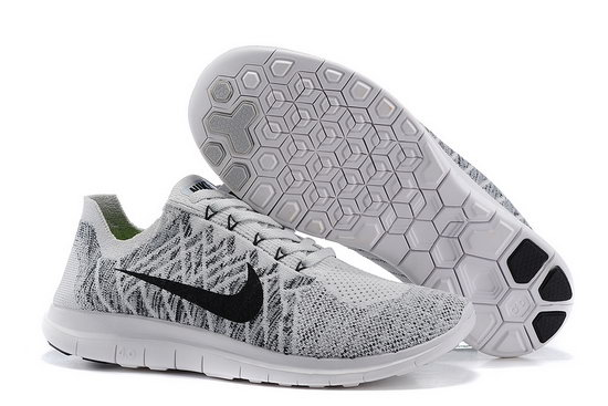 Nike Free Flyknit 4.0 V2 Grey Black 40-45 Usa