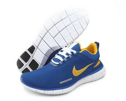 Nike Free Og 14 Br Mens Shoes 2014 Wool Skin Blue White Yellow Hot Discount