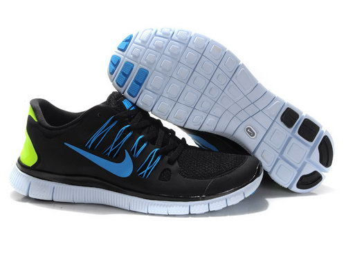 Nike Free Run +3 5.0 Mens Black Jade For Sale