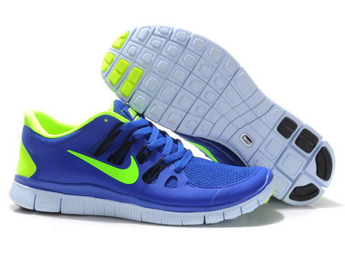 Nike Free Run +3 5.0 Mens Blue Green Portugal