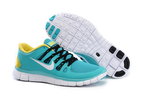 Nike Free Run +3 5.0 Mens Green Yellow Closeout