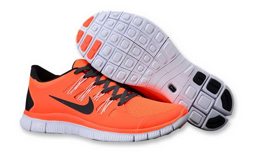 Nike Free Run +3 5.0 Mens Size Us7.5 9 10.5 11.5 Orange Black Czech