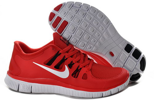 Nike Free Run +3 5.0 Mens Size Us7.5 9 10.5 11.5 Red And White Netherlands
