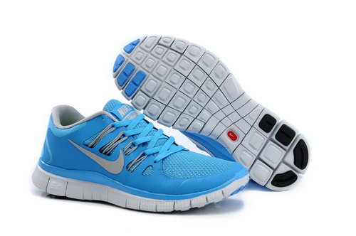 Nike Free Run +3 5.0 Womens Moonlight Light Gray Discount Code