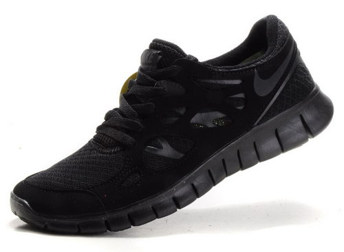 Nike Free Run 2 Mens All Black Coupon