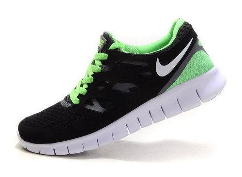 Nike Free Run 2 Mens Black Green Sweden